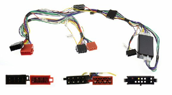 84000MOH - Soft mute kit ISO for cars with separate &lifier  sc 1 st  JustCarKits : range rover p38 radio wiring - yogabreezes.com