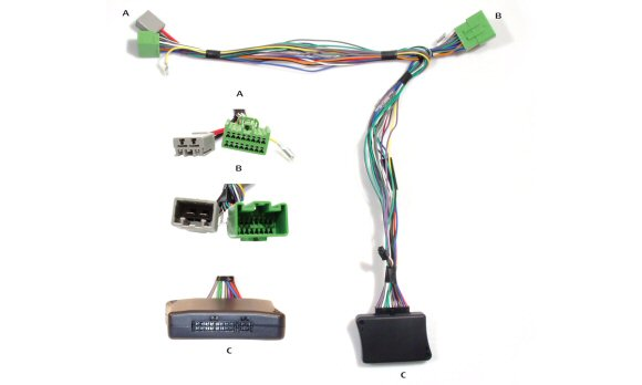 84959M - Telemute kit - Volvo C30 / C70 / S40 / S60 / V50 V70 / XC60 / XC70  / XC90, 2004 onwards with High Performance Sound