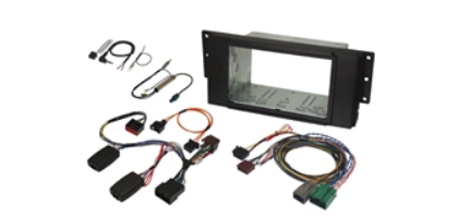 JCKFK-853-3 - Stereo Installation kit for Discovery 3 or Range Rover Sport with Harman Kardon Amplifier and Navigation Screen Retention