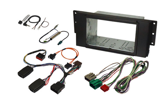 JCKFK-853-6 - Stereo Installation kit for Discovery 3 or Range Rover Sport with Harman Kardon Logic 7 Amplifier and Navigation Screen Retention