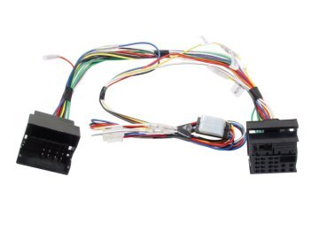 VW03PAR - VW Quadlock to Parrot 3200LS Colour, 3200PLUS, 3400GPS interface  lead set