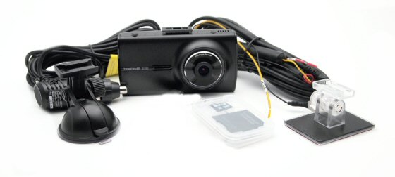 Thinkware X330 HD1080p Dash Cam with LCD and 8GB memory card. 2nd car install pack offer