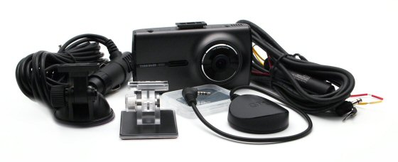 Thinkware X350 HD1080p Dash Cam with LCD and 8GB memory card with GPS Receiver. 2nd car install pack offer