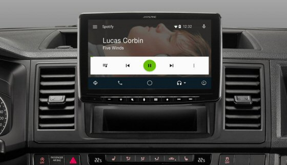 Apline iLX F903D - 9inch Screen. Digital Media Station, Android Auto , Apple CarPlay, Bluetooth Handsfree and Music, DAB Digital Radio, HDMI