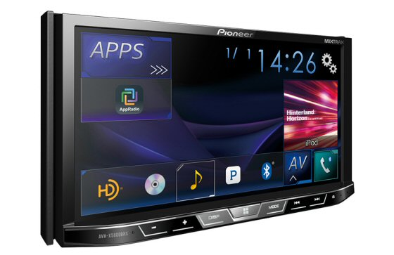 pioneer double din stereos am fm cd dvd bluetooth. Black Bedroom Furniture Sets. Home Design Ideas