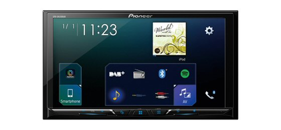 PIONEER SPH DA230DAB - Double DIN 7 inch Touchcscreen, Android Auto, Carplay, Bluetooth, DAB Digital Radio, Spotify, Waze