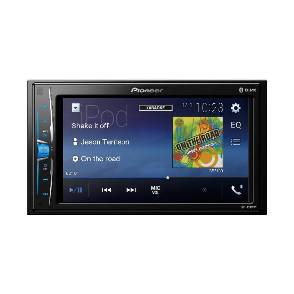 "Pioneer MVH-A200VBT 6.2/"" Auto Estéreo Ipod//Iphone Android Usb Aux Bluetooth"