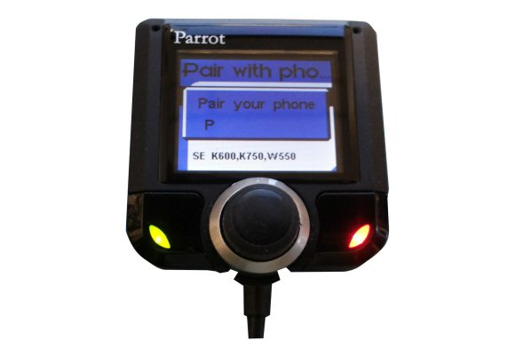how to update a parrot 3200ls colour handsfree car kit