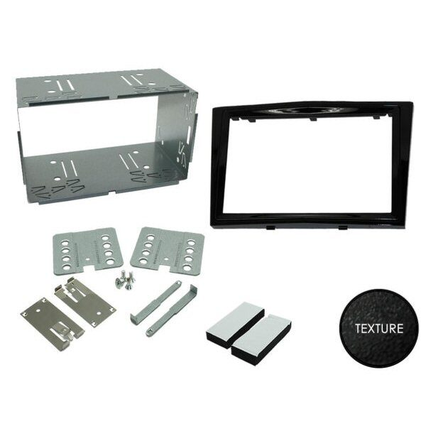 Vauxhall Corsa D 06-14 Kenwood Auto Stereo Cd MP3 USB iPod iPhone Aux Kit de montaje
